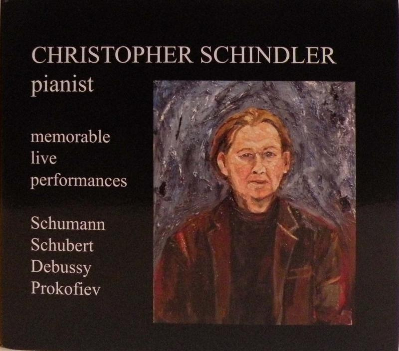 Christopher Schindler portrait by Christine Zachary
